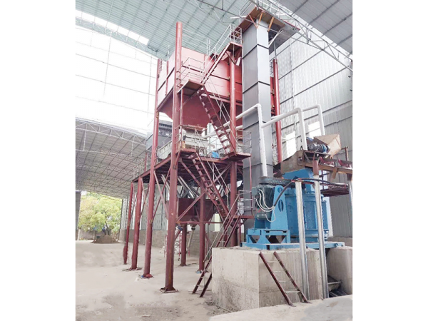桂林灵川县大型涂料厂调试现场