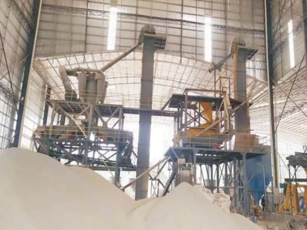 来宾武宣砂浆生产现场