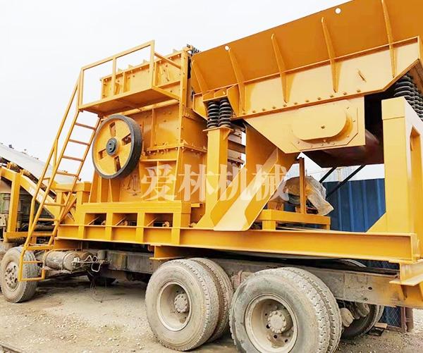 移动式柴油动力(履带、轮胎)石渣石生产线