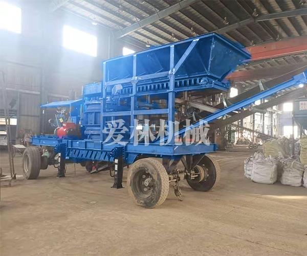 移动柴油制砂机