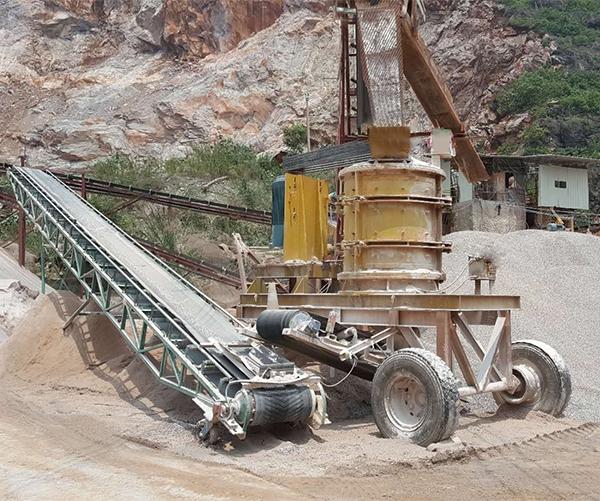 移动式柴油动力制砂机