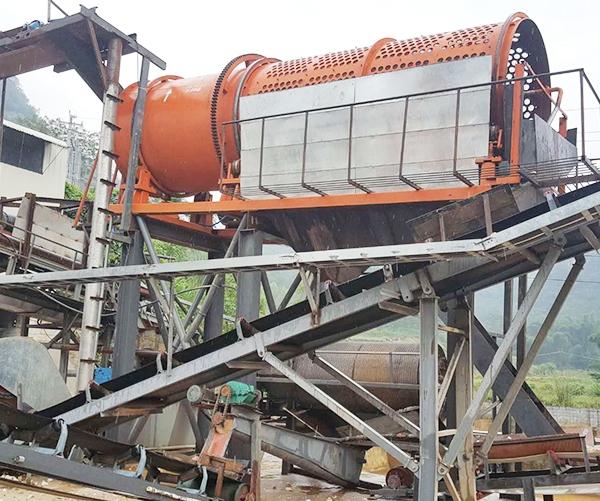 大型洗矿机